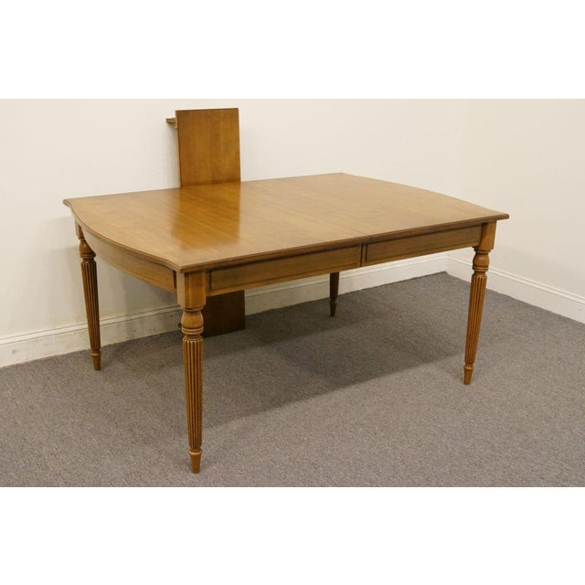 Neoclassical 20th Century Italian Neoclassical Tuscan Dining Table For Sale - Image 3 of 12