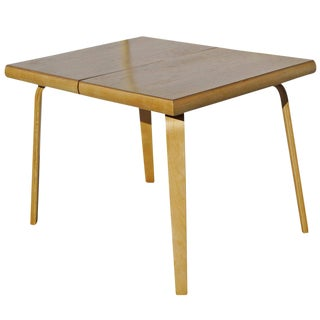Rare Bent Plywood Dining Table by Thaden-Jordan Furniture For Sale