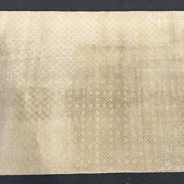 Beige Persian Wool Runner - 3′ × 30′ - Image 5 of 10