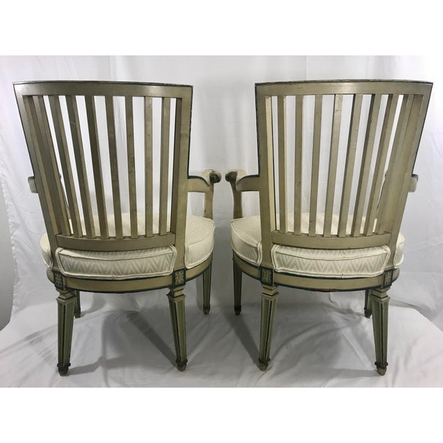 Classical Italian Dining Chairs Set of 4 For Sale - Image 9 of 12