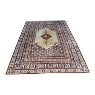 "Oriental Turkish Hereke Old Rug - 6'3"" x 10'2"""