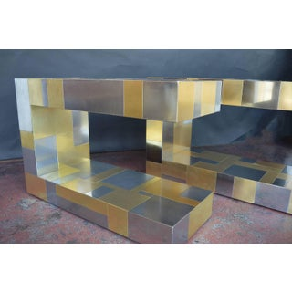 Pair of Paul Evans Cityscape Side Tables Preview