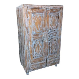 1920s Antique Eclectic Cabinet For Sale