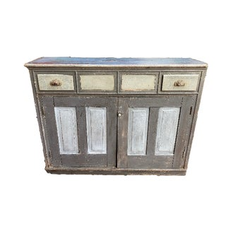 1900s Vintage Jelly Cupboard For Sale