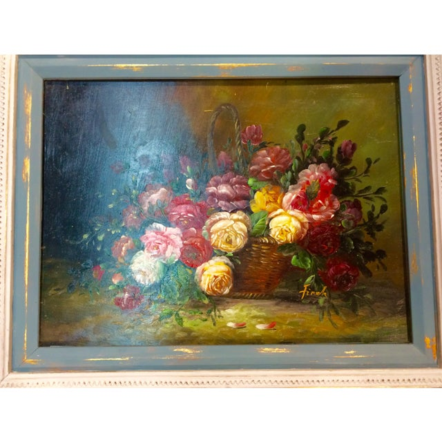 Floral Oil Painting - Image 4 of 5