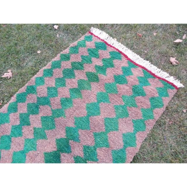 Textile Modern Turkish Angora Tulu Rug For Sale - Image 7 of 12