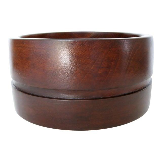 Wood Salad Serving Bowl - Image 1 of 5