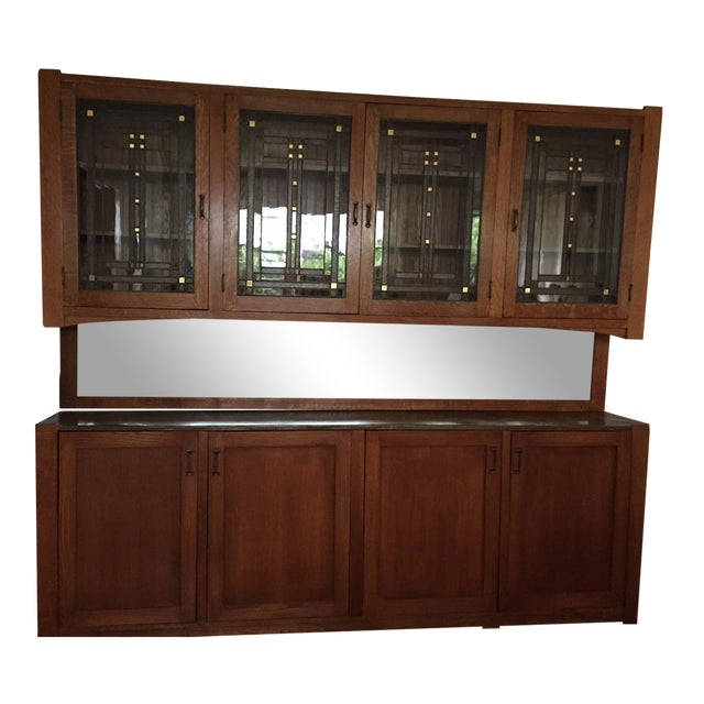 Craftsman Wall Cabinet - Image 1 of 9