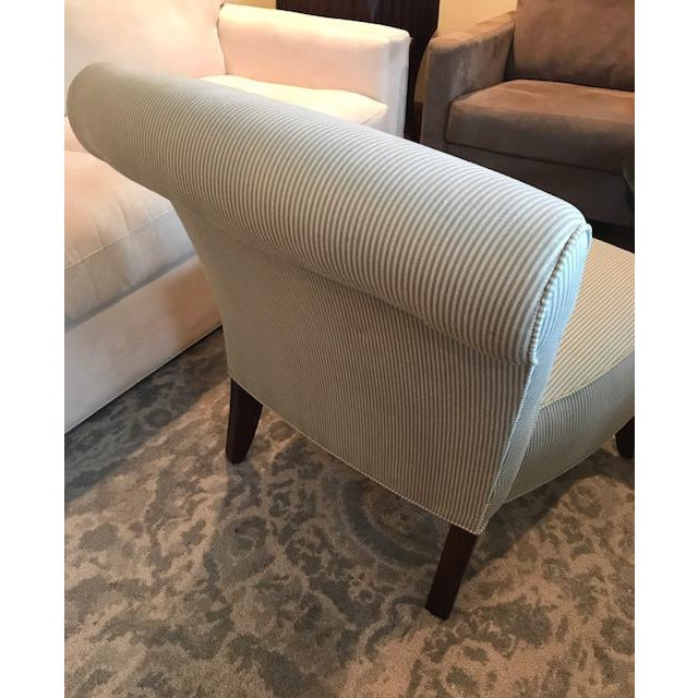 Ethan Allen Slipper Chair For Sale - Image 5 of 7