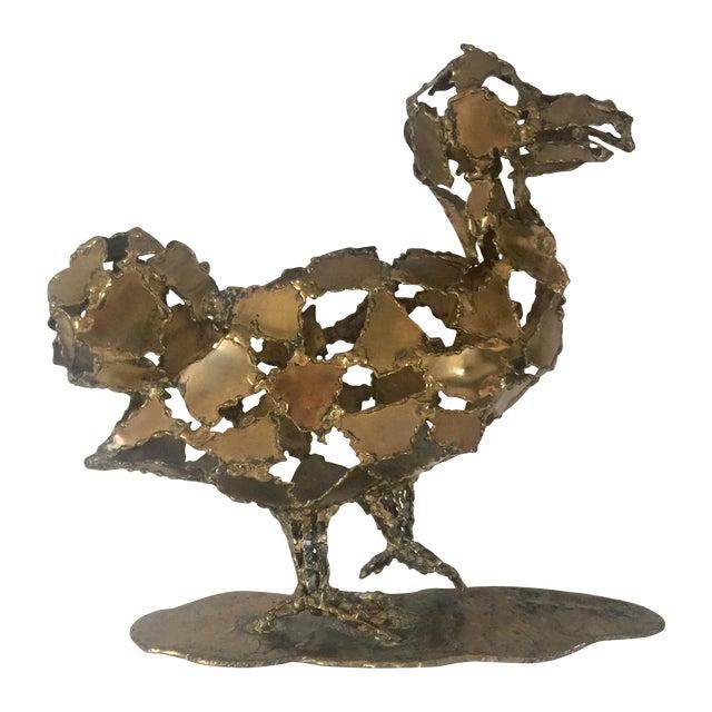 Silas Seandel Brutalist Brass Sculpture - Image 1 of 8