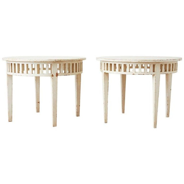 Pair of Richard Mulligan Distressed Centre or Side Tables For Sale - Image 13 of 13