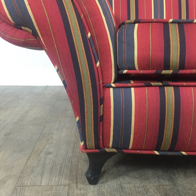 Kravet Club Chairs - A Pair - Image 11 of 11