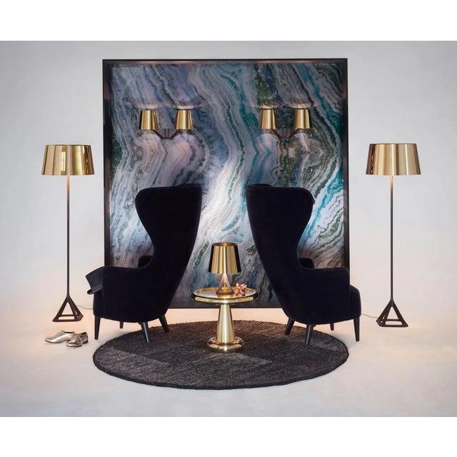 Tom Dixon Tom Dixon Base Floor Light - Polished Brass For Sale - Image 4 of 5