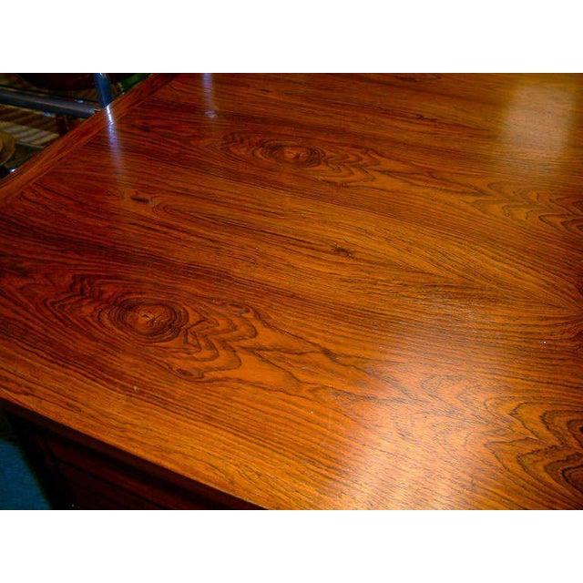 Arne Vodder Rosewood Executive Desk - Image 6 of 10