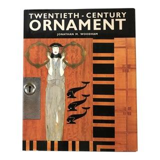 """""""Twentieth Century Ornament"""" 1990 First Edition Rizzoli Art Book For Sale"""