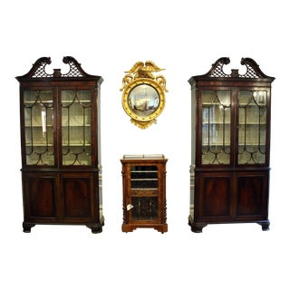 19th Century Chippendale Cabinets - A Pair For Sale