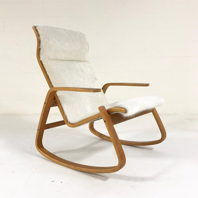 This rocker rocks! Simple lines, functional, minimal - the hallmarks of Scandinavian design. It's incredibly comfortable...