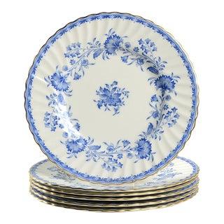Minton Hardwicke Hall Luncheon Plate - Set of 6 For Sale