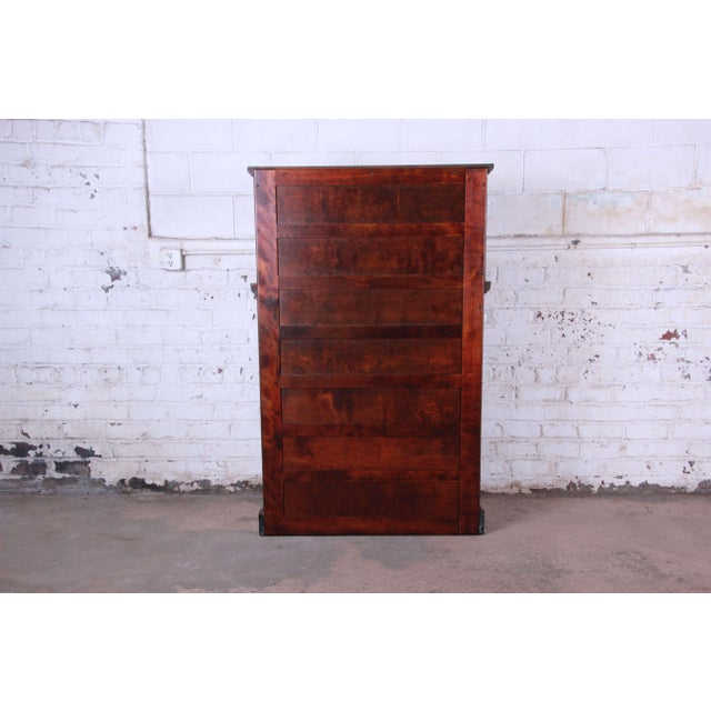 1920s Exceptional Antique 22 Drawer Mahogany Dental Cabinet For Sale - Image 10 of 13