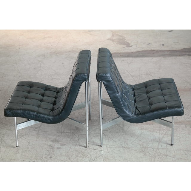 William Katavolos Pair of Original 1950s New York Lounge Chairs by Katavolos, Littell and Kelley For Sale - Image 4 of 8