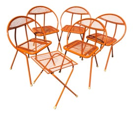 Image of Orange Patio and Garden Furniture