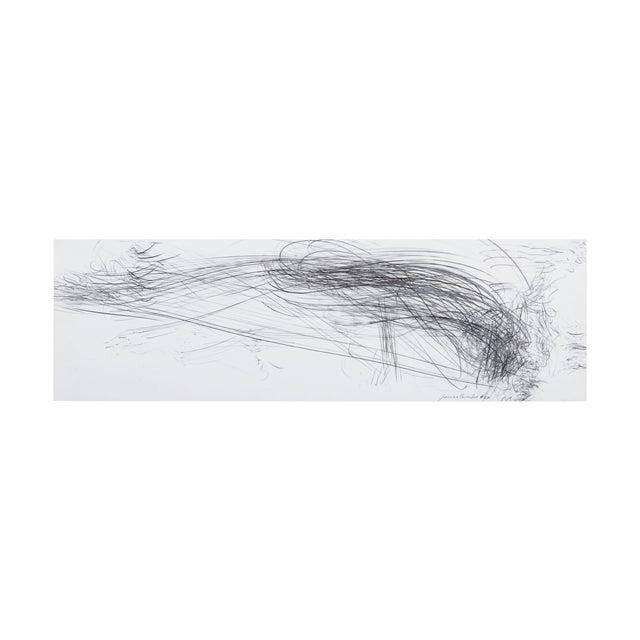 """Jaanika Peerna """"Storm Series Horizontal 40"""" Drawing For Sale"""