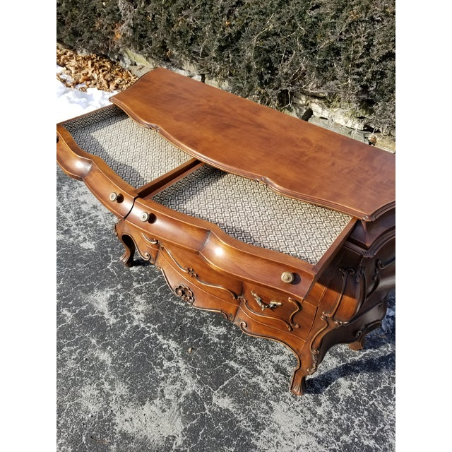 Stunning credenza made in Italy by Decorative Crafts offered at an amazing price! Very high end craftsmanship with a...