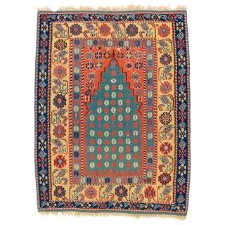 Turkish Erzurum Prayer Kilim For Sale