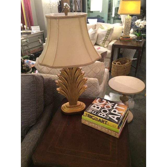 Gold Leaf Wildwood Lamp For Sale - Image 7 of 8