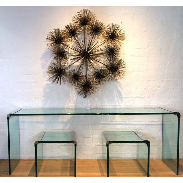"Large Signed ""Pom Pom"" Wall Sculpture by Curtis Jere - Image 6 of 8"