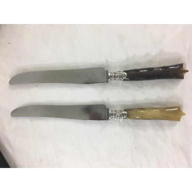 Brown Bakelite Dinner Knives - Set of 23 For Sale - Image 8 of 12