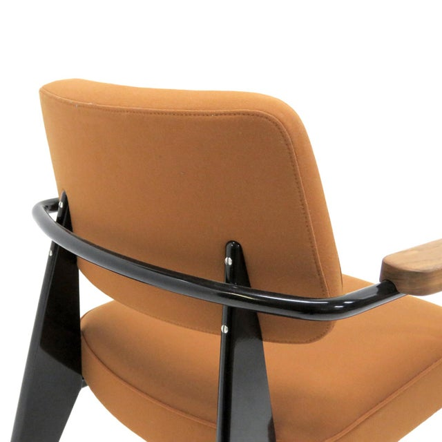 Vitra Fauteuil Direction by Jean Prouvé Armchair For Sale - Image 10 of 11