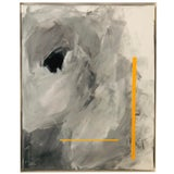 """Image of Abstract Expressionist Axel Abbott Original Acrylic Painting """"Mood Lines V"""" For Sale"""