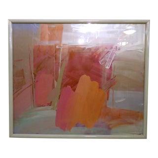 Framed Vintage Modern Art For Sale