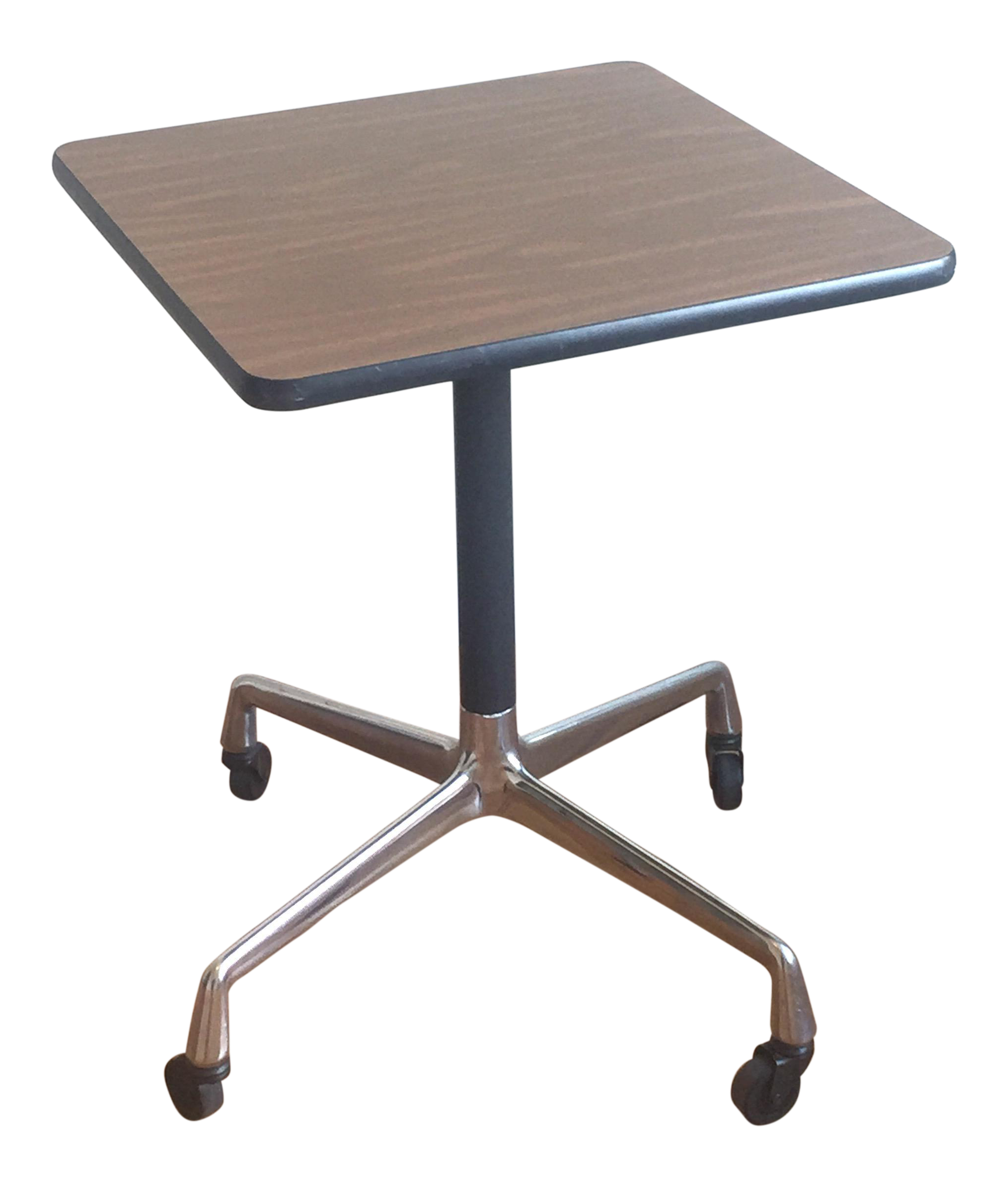 Incroyable Eames Era Herman Miller Rolling Side Table For Sale