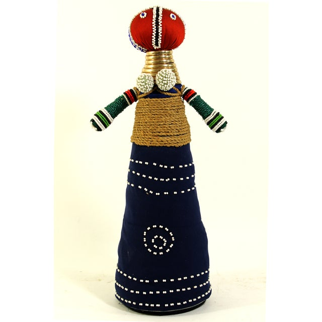 African Folk Art Ceremonial Doll - Image 2 of 6