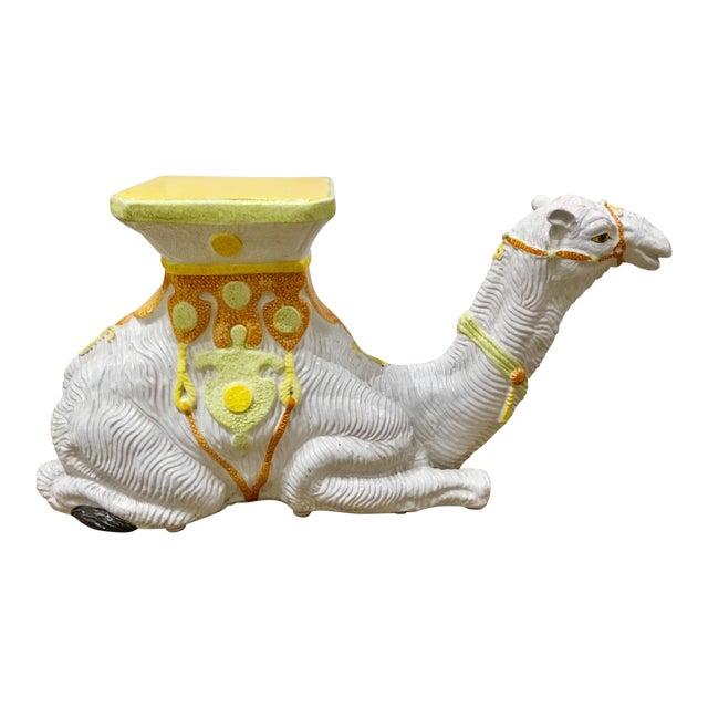 Vintage Italian Terracotta Camel For Sale