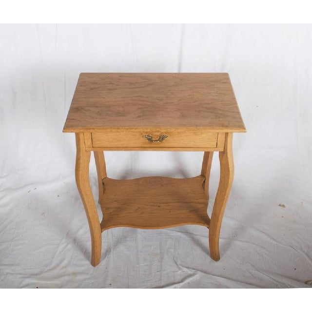 Small Oak Console Table, 1930s For Sale - Image 4 of 6