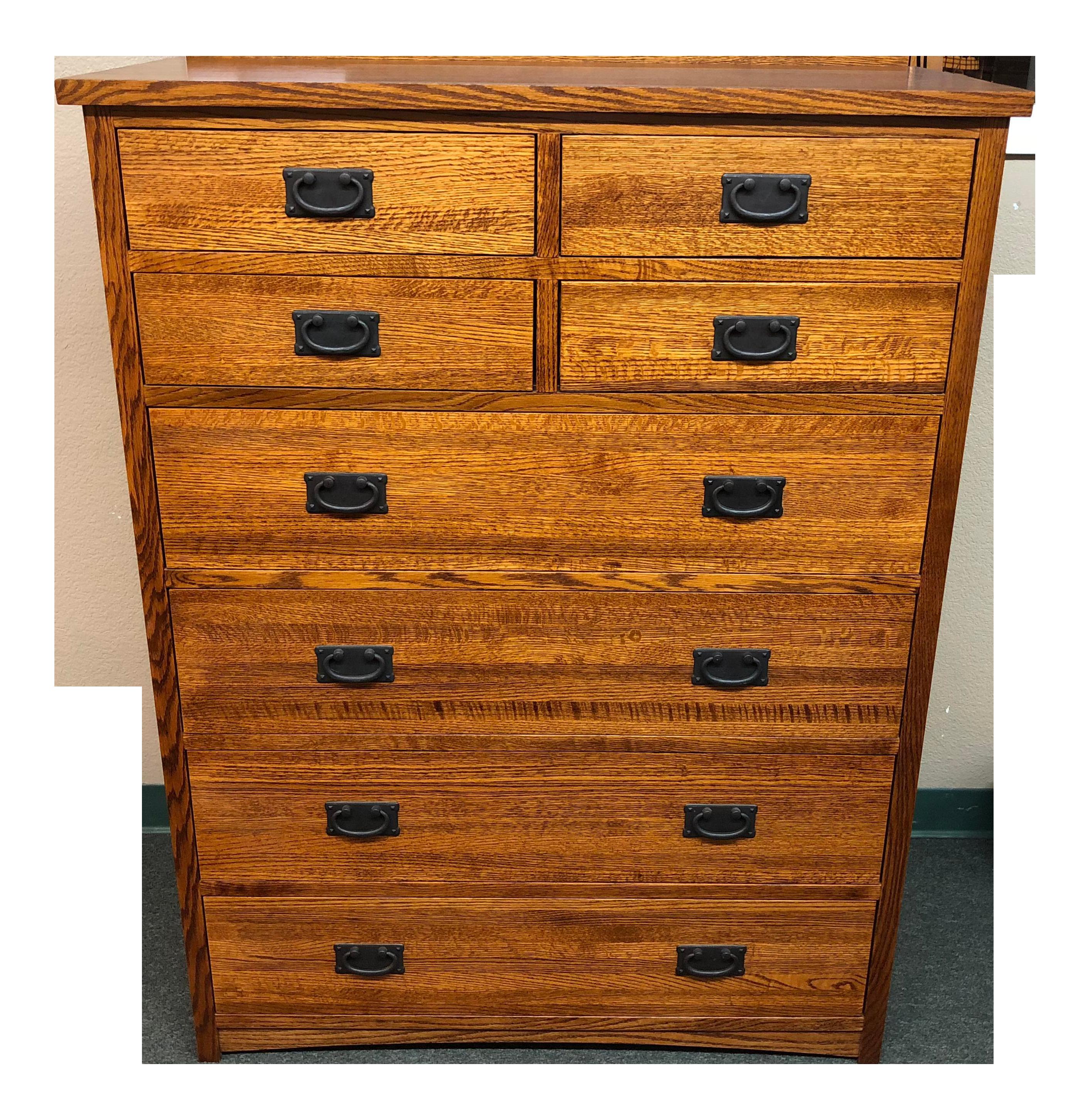 Arts And Crafts Style Michaels Furniture Oak Dresser Chairish