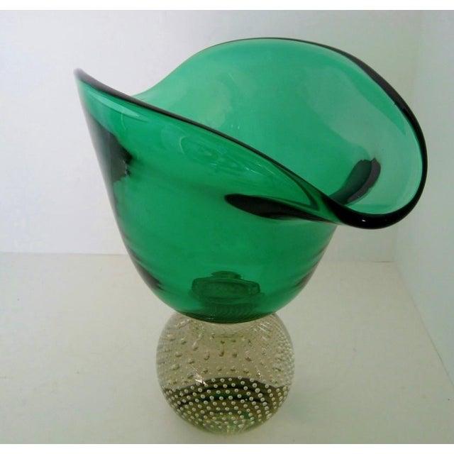 Vintage Erickson Glass Vase - Image 5 of 6