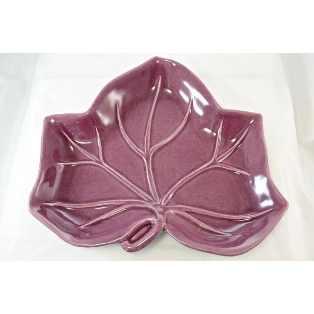 Catalina Pottery Leaf Tray - Image 2 of 6