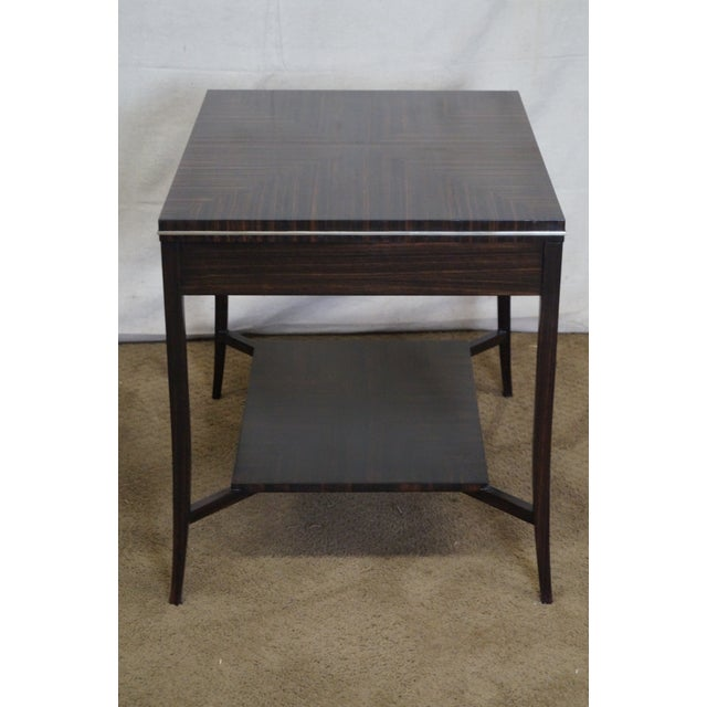 Jonathan Charles 1 Drawer Directoire End Table - Image 4 of 10