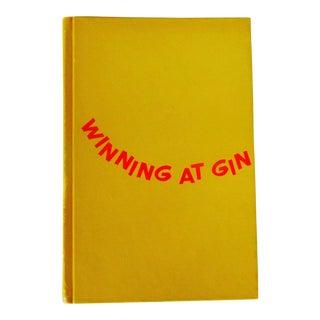 "Chester Wander ""Winning at Gin"" 1965 Book"