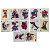Image of 1869 Fun Maps of Europe - Set of 12 For Sale