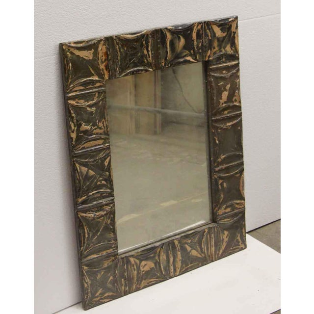 This mirror is hand crafted using antique tin ceiling tiles. It is ready to ship. This item is unique. The dimensions are...