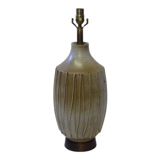 1960s David Cressey Pottery Table Lamp For Sale