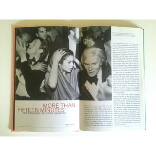 """"""" Andy Warhol Celebrities More Than Fifteen Minutes """" Rare First Edition Collector's Hardcover Exhibition Pop Art Book Preview"""