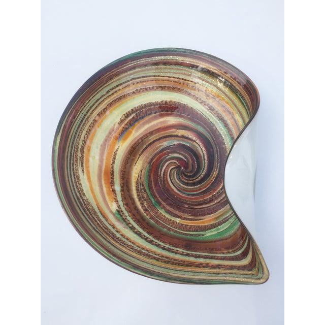 Murano Multicolor Swirl Dish - Image 2 of 3