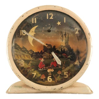 Vintage Pixie Clock With Motion For Sale