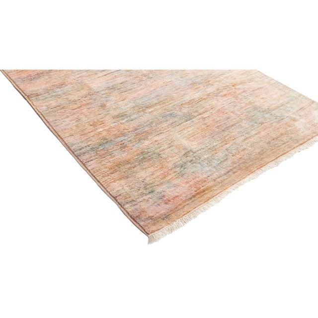 """Vibrance Hand Knotted Runner Rug - 2' 5"""" X 14' 4"""" - Image 2 of 4"""